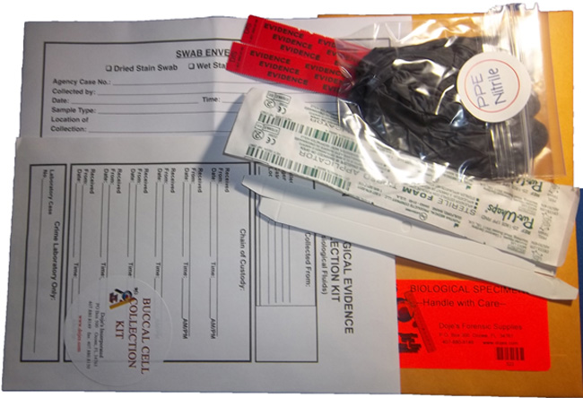 Swab Collection Kit Dna Buccal Swab Collection Kit